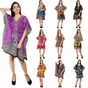 Kaftan Mini Dress